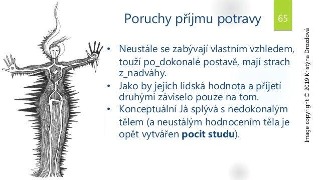 Poruchy příjmu potravy 65 Image copyright © 2019 Kristýna Drozdová • Neustále se zabývají vlastním vzhledem, touží po_doko...