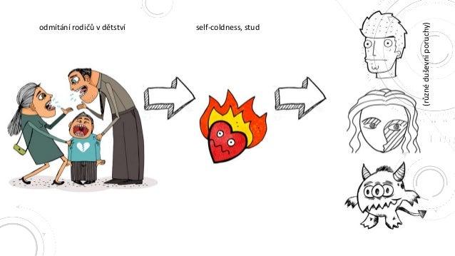 odmítání rodičů v dětství self-coldness, stud (různé duševní poruchy) 9