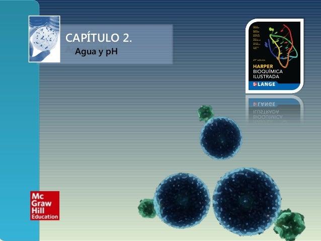 CAPÍTULO 2. Agua y pH
