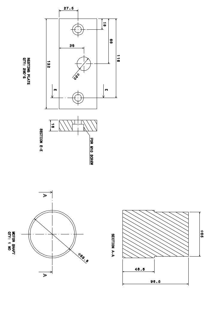 Bending machine base plate sheet 2 model (1)