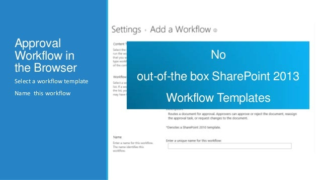 Bend Sharepoint Approval Workflow to your Will