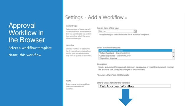 Bend sharepoint approval workflow to your will sharepoint 2013 workflow templates 9 pronofoot35fo Images