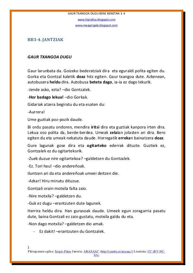 GAUR TXANGOA DUGU BENE BENETAN 3. 4                                    www.hipialtza.blogspot.com                         ...