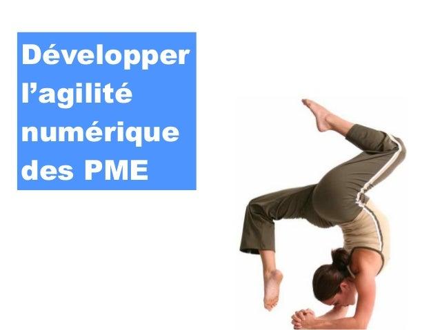 Développerl'agiliténumériquedes PME