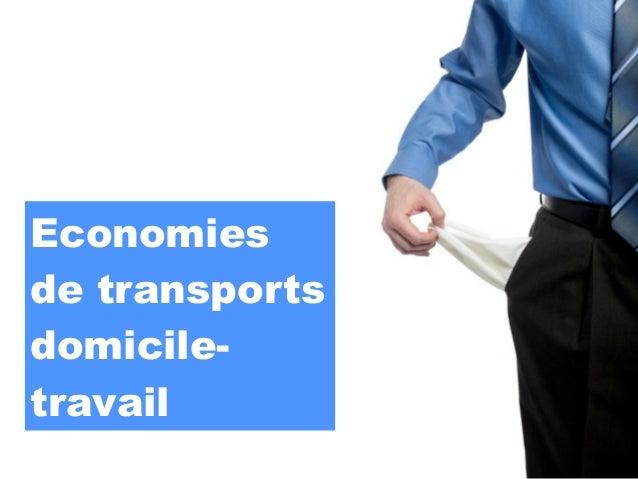 Economiesde transportsdomicile-travail