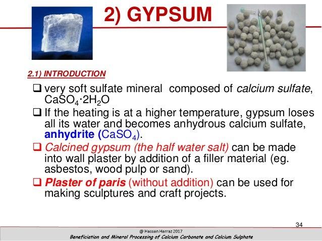how to prepare calcium sulfate