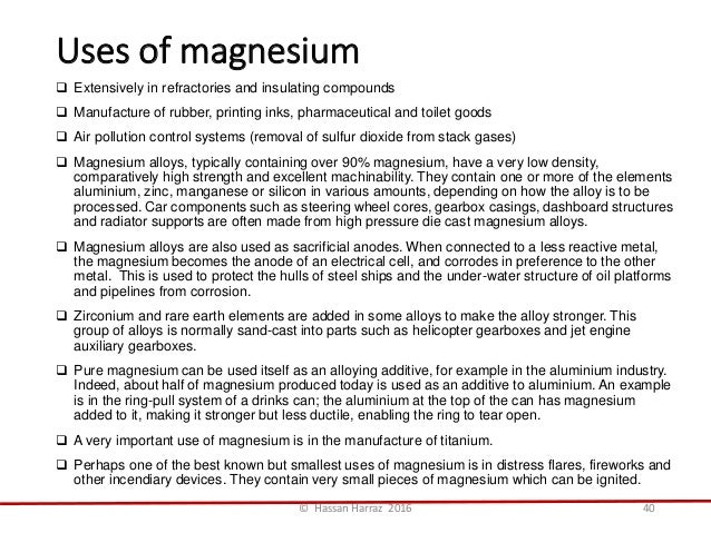 Beneficiation and mineral processing of magnesium minerals