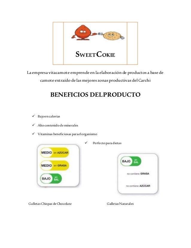 La empresa vitacamote emprende en la elaboración de productosa base de camote extraído de lasmejoreszonasproductivasdel Ca...