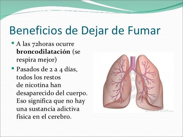 Beneficios de dejar de fumar - 3 meses sin fumar ...