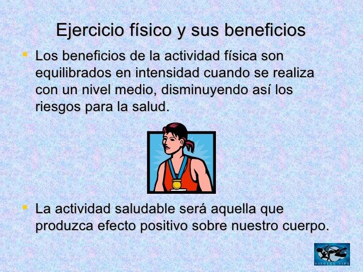 Beneficios del ejercicio fisico gaby