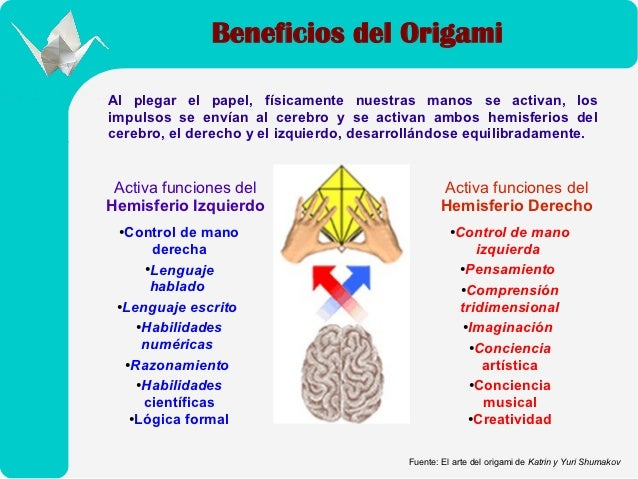 Beneficios del origami Slide 3