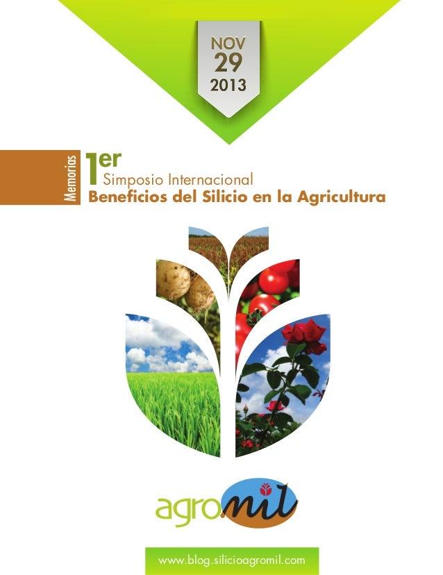 291d1fa70 Beneficios del silicio en la agricultura