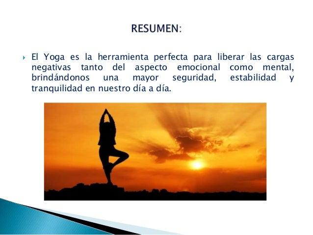 Beneficios del yoga Slide 3