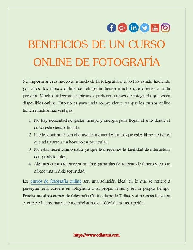 Cursos de Fotografia Gratis Online 68