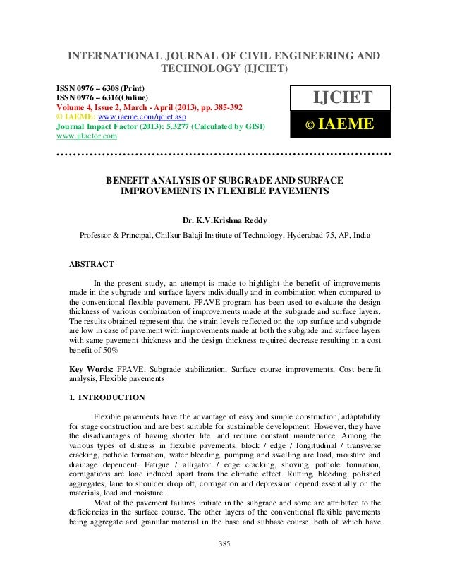 International Journal of Civil Engineering and Technology (IJCIET), ISSN 0976 – 6308(Print), ISSN 0976 – 6316(Online) Volu...