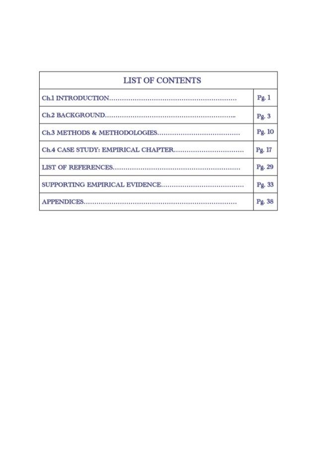 Assumptions of a dissertation study
