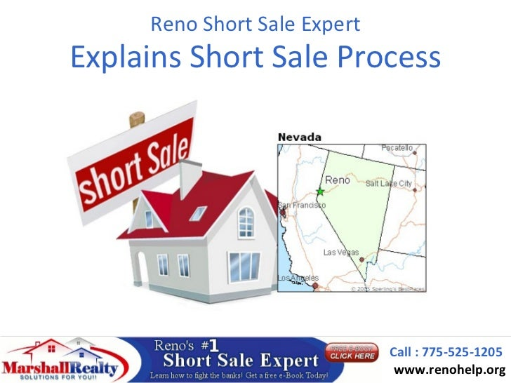 Reno Short Sale ExpertExplains Short Sale Process                              Call : 775-525-1205                        ...