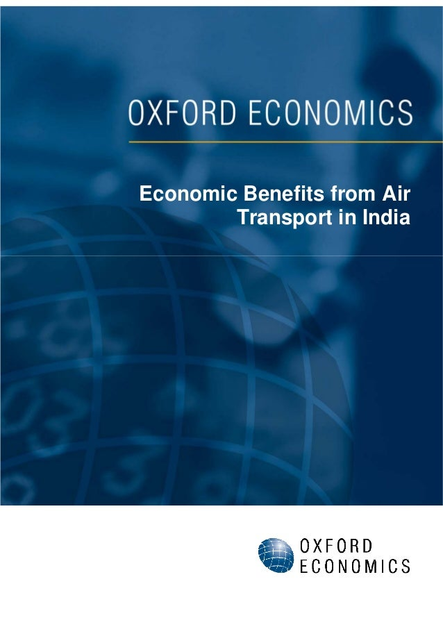 Economic Benefits from Air Transport in India