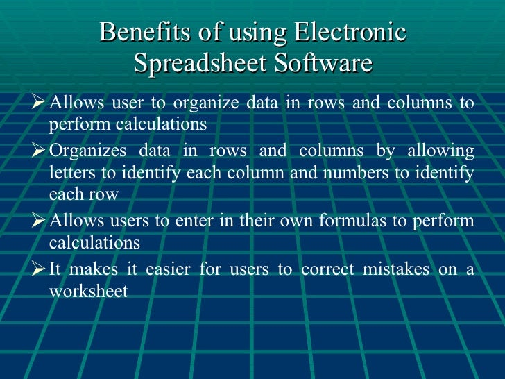Benefits Of Computer Software