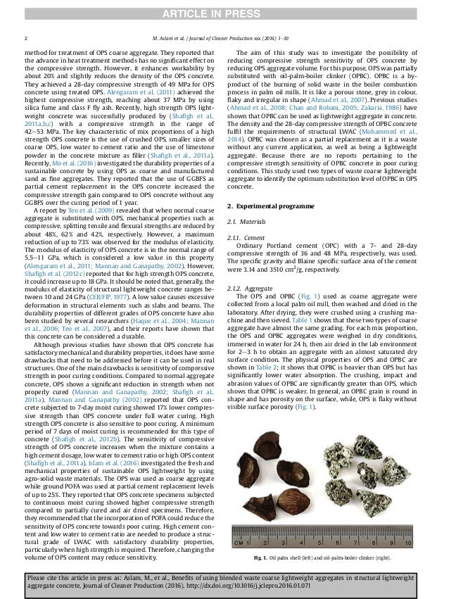 benefits of using blended waste coarse lightweight aggregates in stru u2026