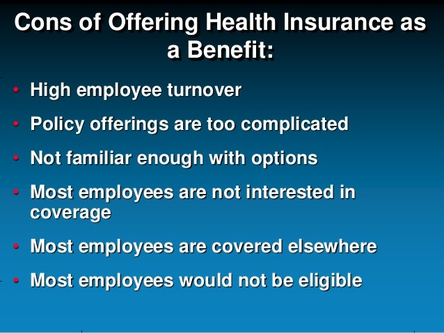 Employees benefits (Pros&Cons)
