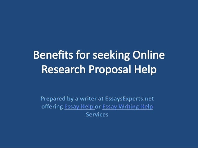 Help with proposal essay