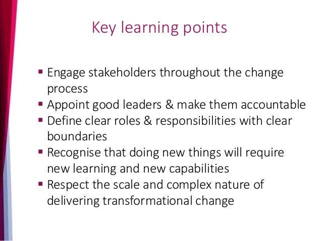 Benefits management and transformational change, 10 January 2017 - Southampton