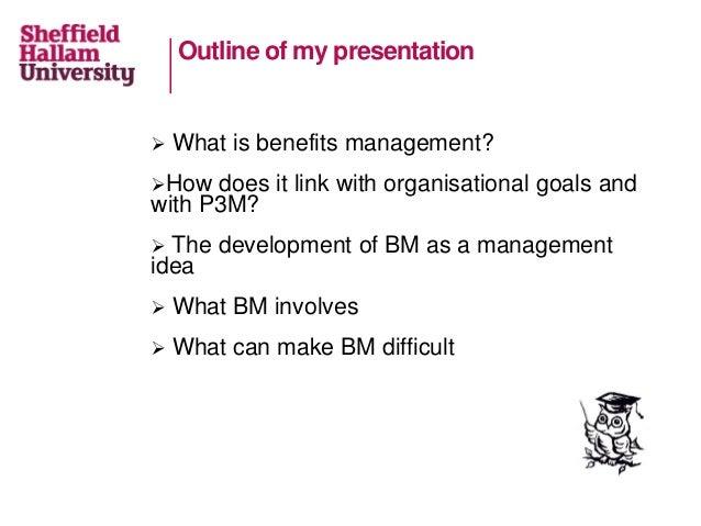 Benefits management: benefits for you Slide 2