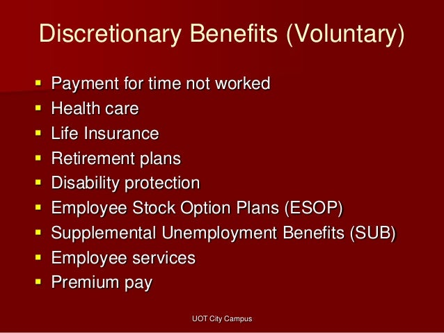 Benefits, nonfinancial rewards, and other compensation