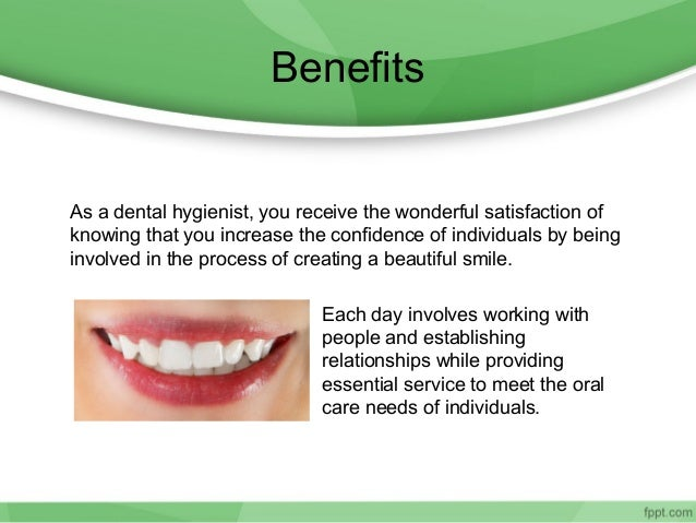 benefits of a career as a dental hygienist