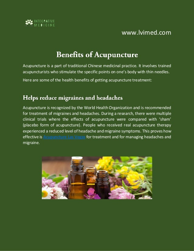 www.lvimed.com Acupuncture is a part of traditional Chinese medicinal practice. It involves trained acupuncturists who sti...