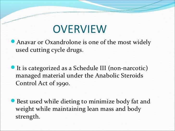Benefits of anavar