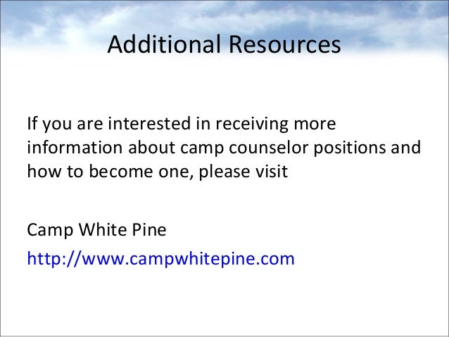 Benefits of Being A Camp Counsellor – Camp Counselor Job Description