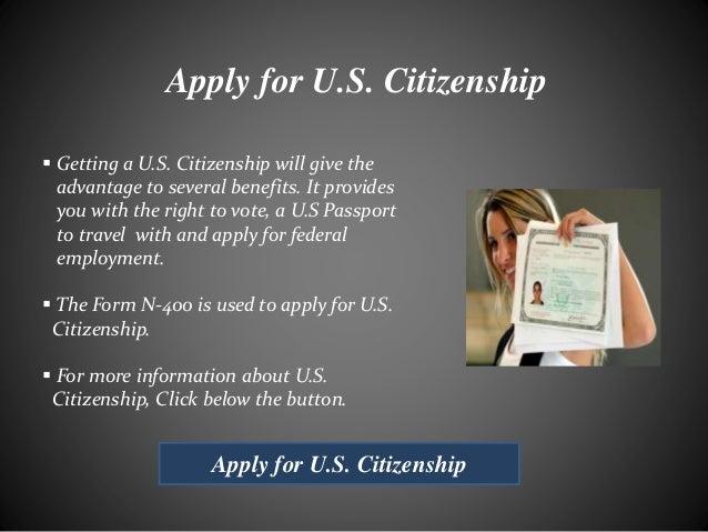 Benefits of Being a U.S. Citizen
