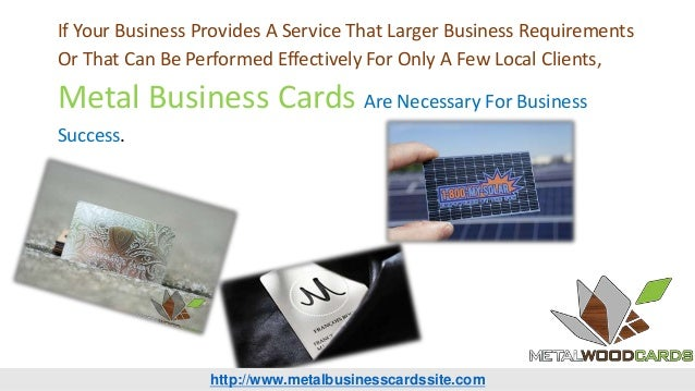 Benefits of black metal business cards 6 if your business colourmoves Gallery