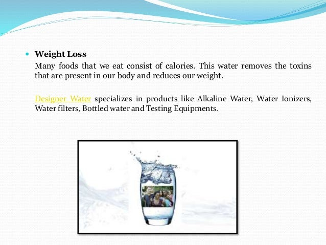 Counting calories in bottled water