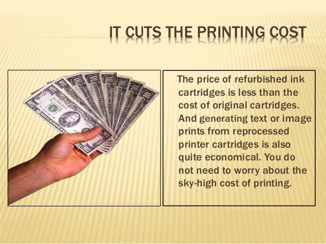 Benefits of buying remanufactured ink cartridges
