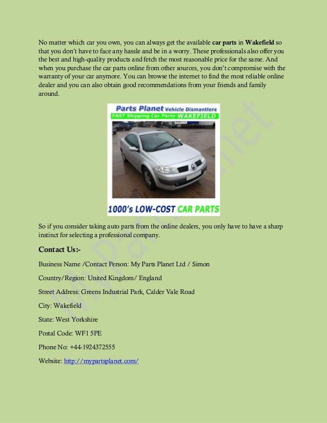 Benefits Of Buying Used Car Parts Online In Uk