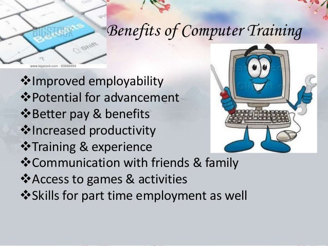 benefit of computer 2 Simply put, cloud computing is computing based on the internetwhere in the past, people would run applications or programs from software downloaded on a physical computer or server in their building, cloud computing allows people access to the same kinds of applications through the internet.
