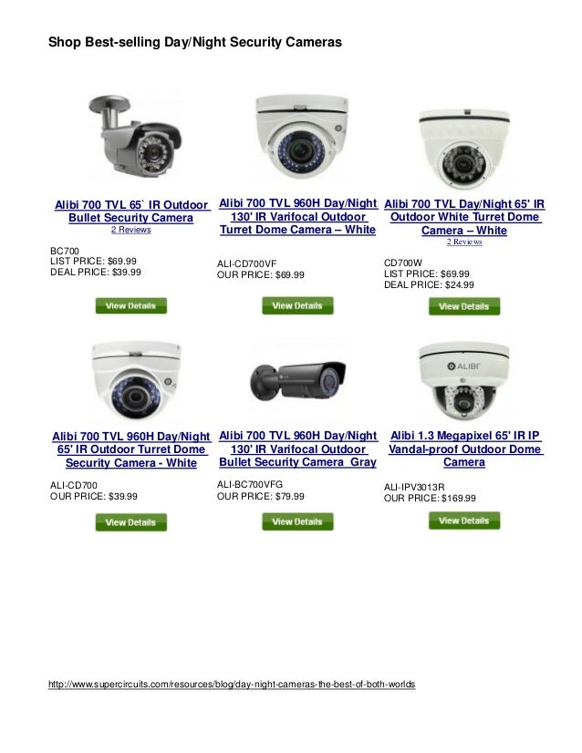 Shop Best-selling Day/Night Security Cameras  Alibi 700 TVL 65` IR Outdoor  Bullet Security Camera  2 Reviews  BC700  LIST...