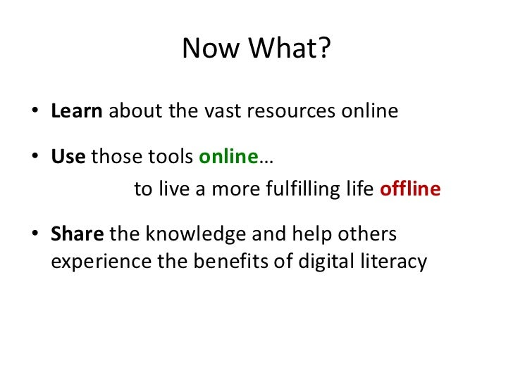 the benefits and issues of digital literacy Unlike most editing & proofreading services, we edit for everything: grammar, spelling, punctuation, idea flow, sentence structure, & more get started now.