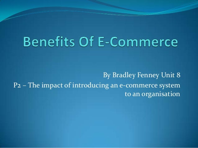 assignment on e commerce I hope this assignment will help he banking sector to gather some insights on the widows to do further studies in this aspect - assignment on e- commerce introduction.