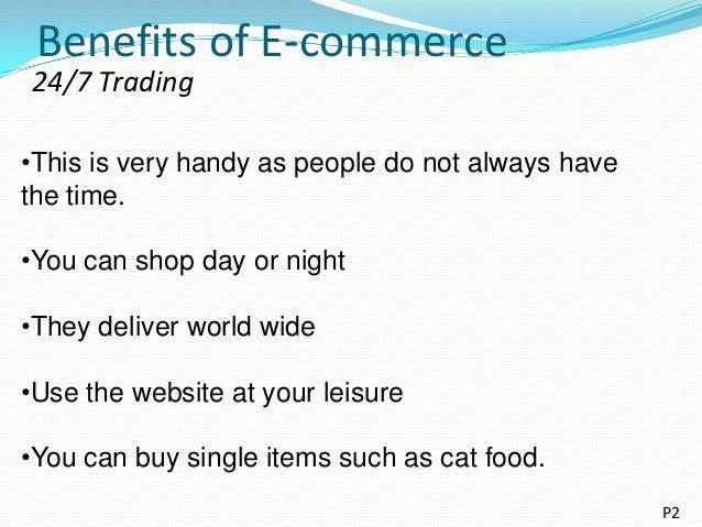 advantages of e commerce pdf