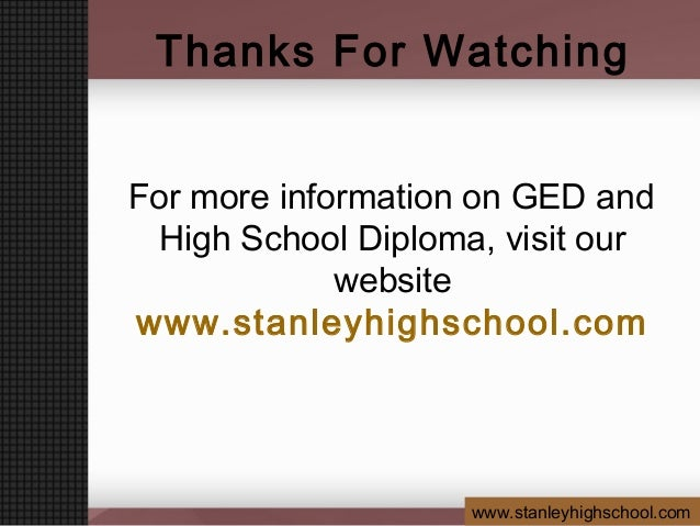 benefits of earning accredited high school diploma at home