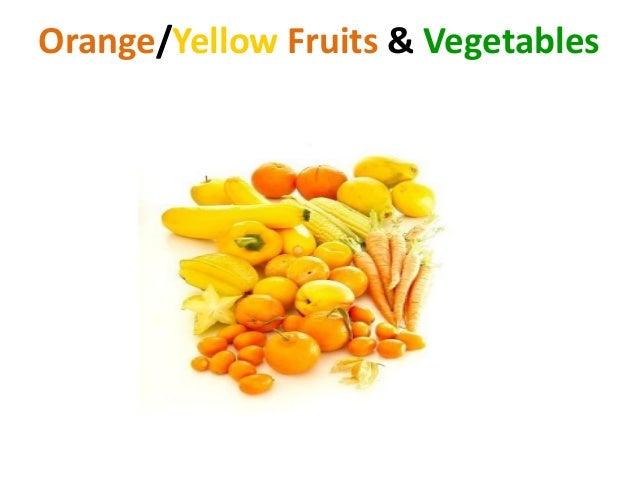 Orange Vegetables And Fruits Orange And Yellow Vege...