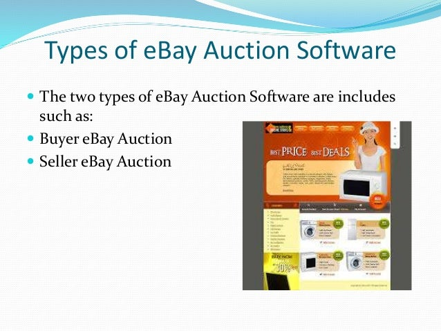Benefits of eBay Auction Software - Klaus Garde Nielsen