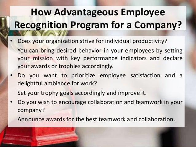 Employee Awards Titles