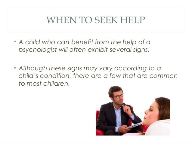 Benefits of finding the right child psychologist