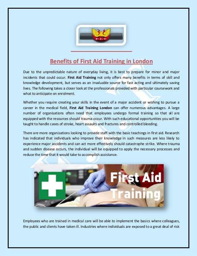 first aid training proposal essay Training plan proposal: first aid and cpr training 1447 words | 6 pages stakeholders, including patients and employees training strategy proposal essay.