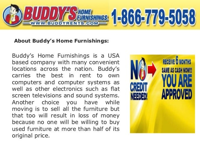 Benefits Of Furniture Rent To Own Option Offered By Buddy S Home Furn